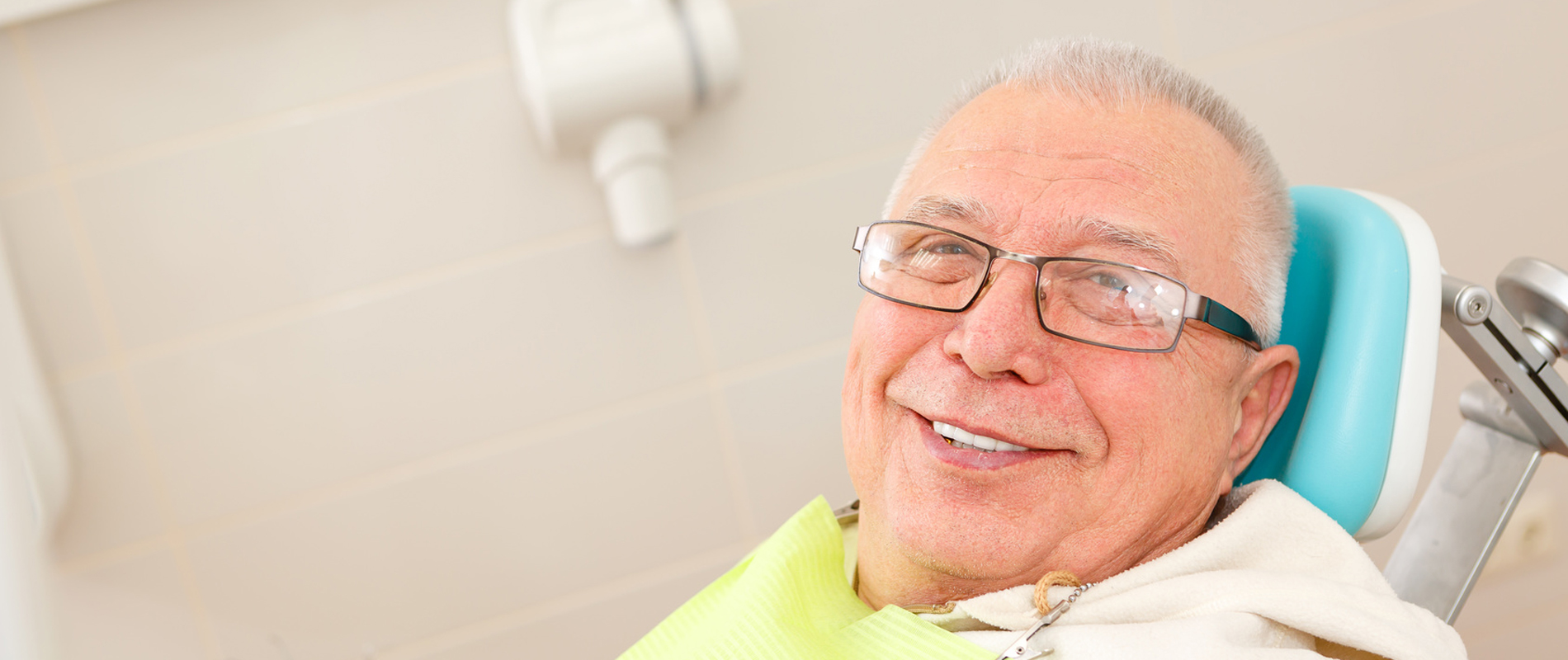 Elder in Dental Chair
